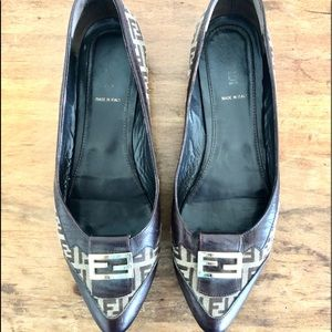 Authentic Fendi Loafers